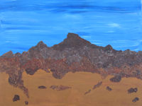 Original Acrylic Paintingy Arizona Morning