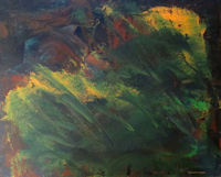 Original Painting by Carol Fincher-Young - Abstract in Darker Colors