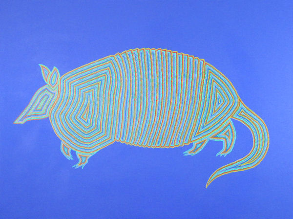 Armadillo in Aborigine Style by B.C. Fincher